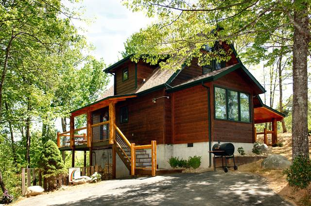 Rainbow falls 2 bedroom cabin at parkside cabin rentals for Falls lake cabin rentals