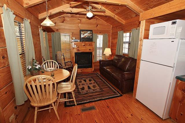 One Room Cabins Entrancing 1 Bedroom Cabins In Gatlinburg Tn  Gatlinburg Cabin Rentals Review