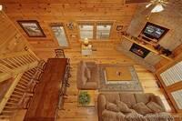 Overhead Living Room