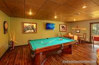 Downstair Pool Table