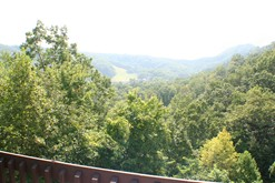 The High Alpine Resort has geat views of the Smokies.