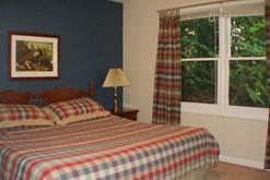Private bedrooms in your Gatlinburg chalet rental.