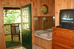 Gatlinburg cabins on Ski Mountain.