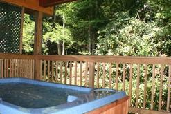 Romantic hot tub for your honeymoon in Gatlinburg.