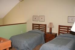 Gatlinburg condo with a bedroom in the loft.