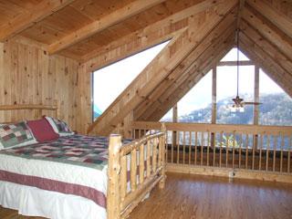 loft bedroom of View Ober Gatlinburg Cabin