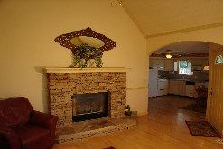 Luxury Livingroom with gas fireplace