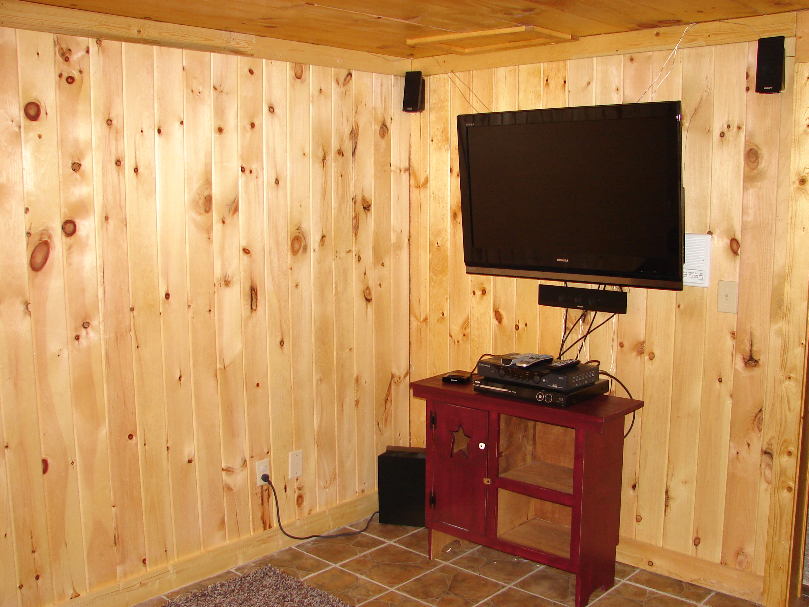 theater rm at View Ober Gatlinburg Cabin
