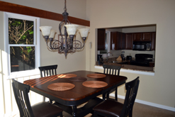 dining room of your Gatlinburg chalet rental