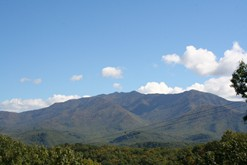 Great Smoky Mountain views from your Gatlinburg Chalet.