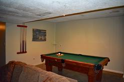 20  Bear Crossing pool table