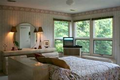 Large private bedrooms in your Gatlinburg chalet rental. at A Great Escape Chalet in Gatlinburg TN