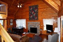 14 Cabin Fever open floor plan