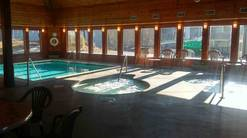 The Summit indoor pool