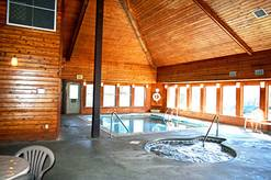 The Summit indoor pool and 2 whirlpools