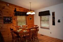 74 Life's a Bear Retreat dining area