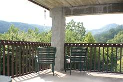 Condo rental in Gatlinburg with a private balcony and views of the Smokies. at High Alpine Resort in Gatlinburg TN
