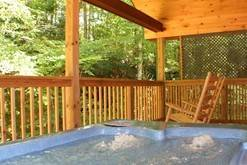 Gatlinburg cabins with private hot tubs.
