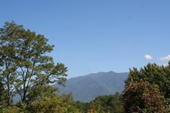 Enjoy the view of the Smoky Mountains from your Gatlinburg condo. at High Alpine Resort in Gatlinburg TN