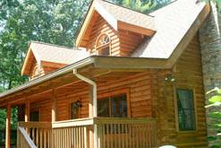 2 bedroom log cabin rental in Gatlinburg, Tn. at Cabin Fever in Gatlinburg TN