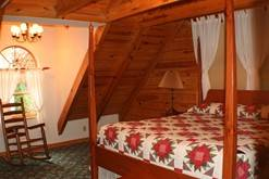 Smoky Mountain vacation rental in Gatlinburg with 2 bedrooms. at Cabin Fever in Gatlinburg TN