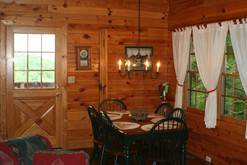 Dine in at your log cabin in Gatlinburg. at Cabin Fever in Gatlinburg TN