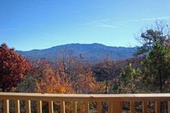 gatlinburg chalet with great views of the smokies at Dream Catcher in Gatlinburg TN