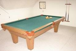 24 pool table  at A Great Escape Chalet in Gatlinburg TN