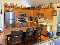 50 birdhouse inn fully equipped kitchen at Birdhouse Inn in Gatlinburg TN
