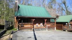 2 Gone Fishin 3 bedroom log cabin in Gatlinburg at Gone Fishing in Gatlinburg TN