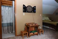 loft area games at Smoky Mountain Dream in Gatlinburg TN