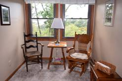 loft sitting area at Smoky Mountain Dream in Gatlinburg TN