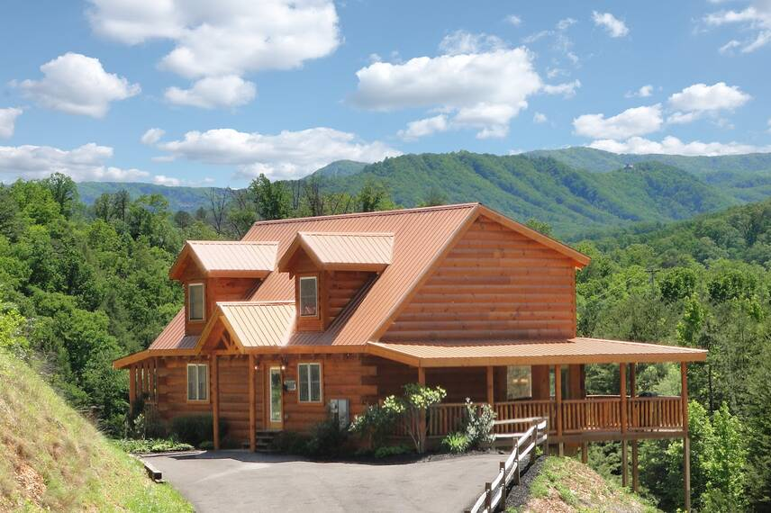 stress relief smoky mountain chalet rentals