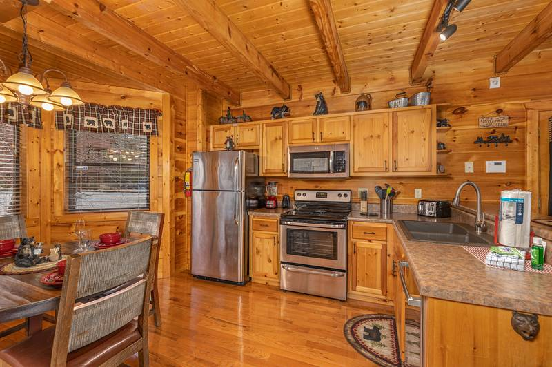 4 Paws Smoky Mountain Cabins Tennessee