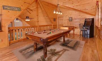 Enjoy family fun in your Dollywood cabin.