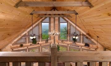 A Point of View cabin is all about the Smoky Mountain views!
