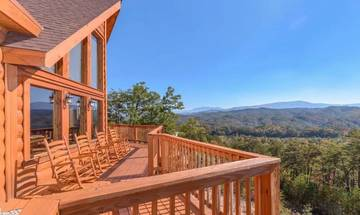 Mother's Dream offers some of the most memorable views of the valley and Smoky Mountains.