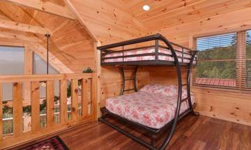 Large bunk beds for the family.