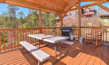 Throw some steaks or burgers on the gas grill and enjoy an outdoor picnic with friends and family.