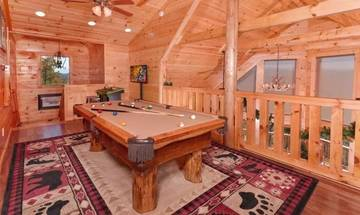 Ready for a few games of pool at the cabin?