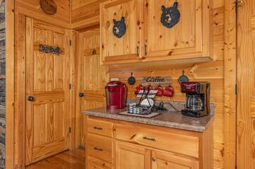 Extra amenities for those special cabin rental occasions.