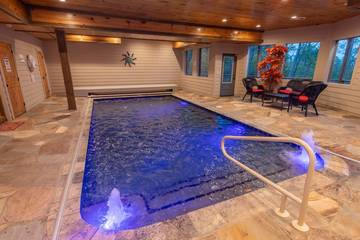 The Appalachian, a private swimming pool cabin located in Pigeon Forge.