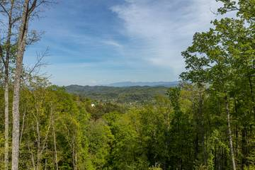 Million dollar view from your Tennessee Smoky Mountains rental cabin getaway.