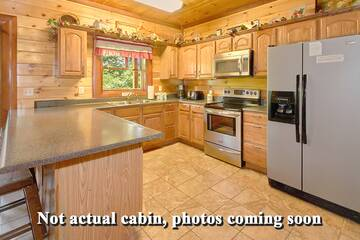 Cabin rental accommodations in the Tennessee Smoky Mountains. Photos coming soon.