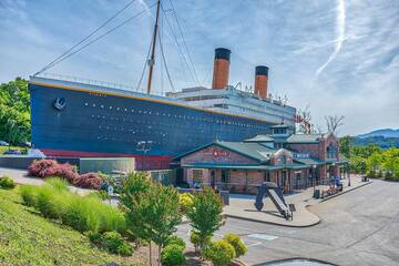 Titanic Museum attraction Pigeon Forge Tennessee.