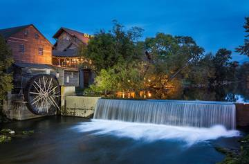 The Old Mill shopping center Pigeon Forge Tennessee.