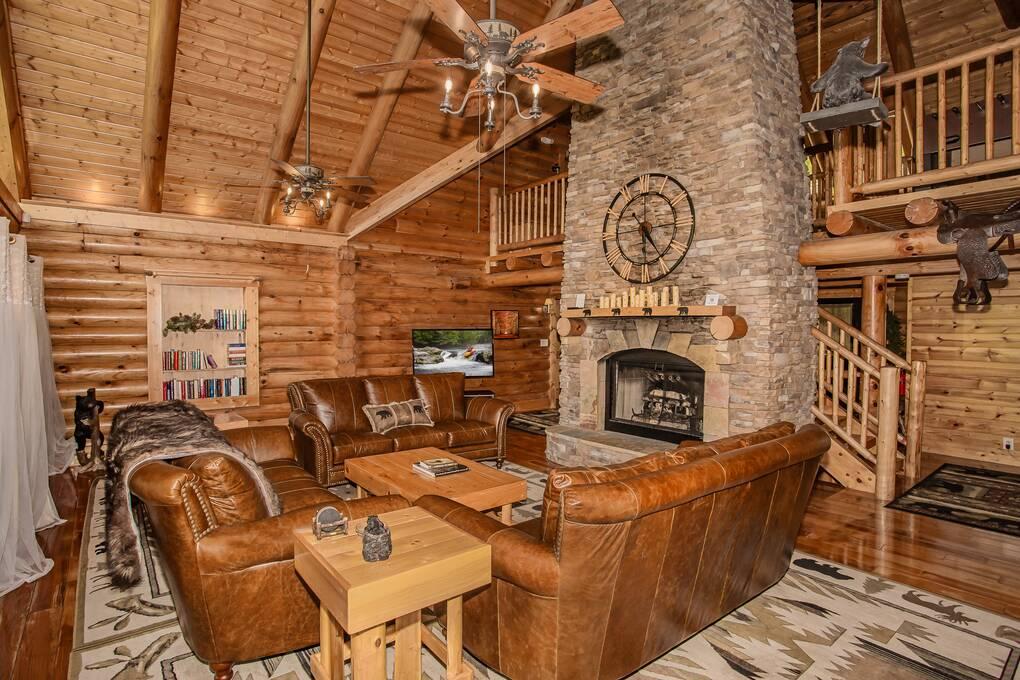 5 Bedroom Gatlinburg Cabins Chalets Smoky Mountains Cabin Rentals