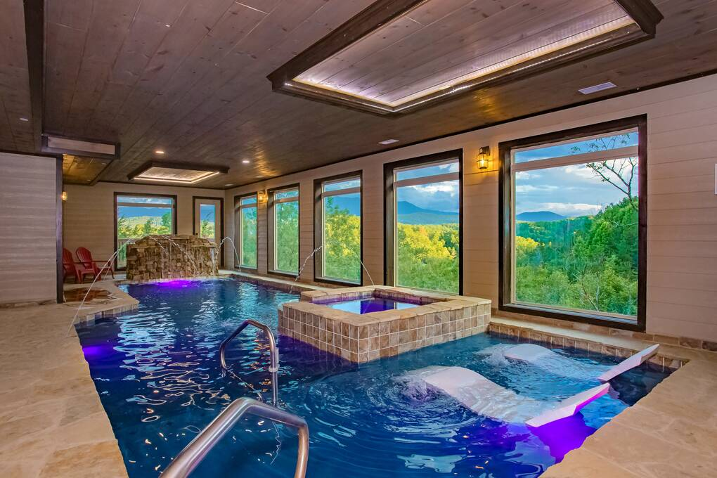 Private Pool Gatlinburg Cabin Rentals With Indoor Pools
