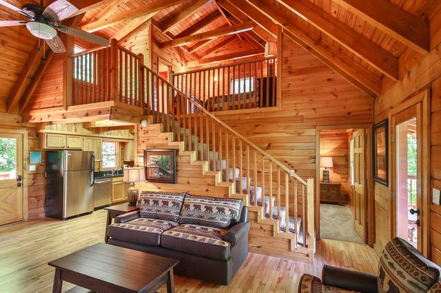 Incredible Lakeside Cabins Smoky Mountain Lake Resort Interior Design Ideas Pimpapslepicentreinfo