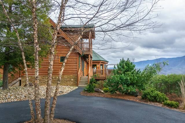 Pinnacle View Lodge Gatlinburg Chalets Cabin Rentals